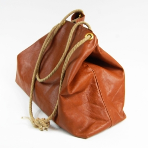 "Shalloon  - ""Minimalist bags in leather and wax cotton, plus colorful leather accessories, all designed and crafted in London."""