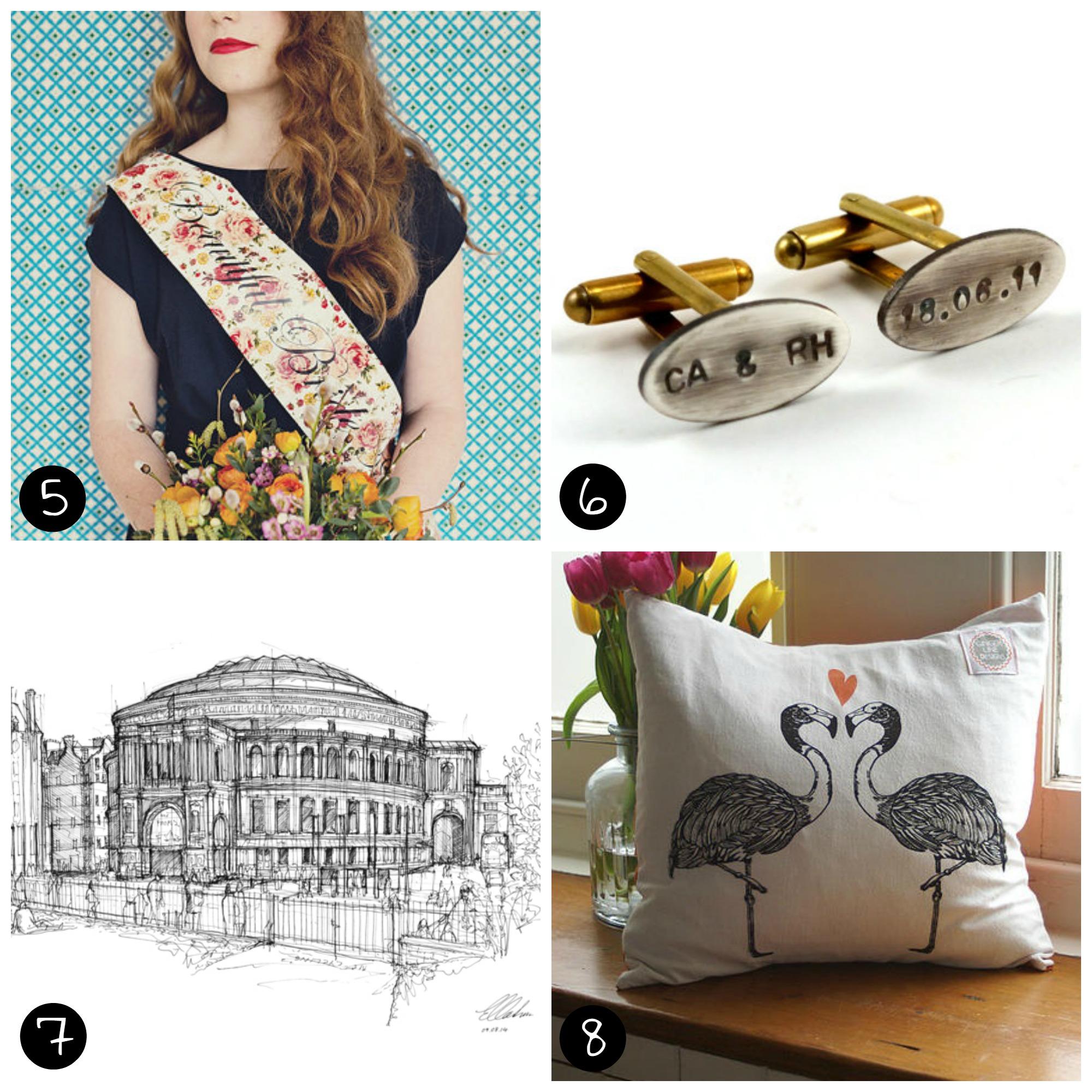 5. Oh Squirrel  (Brixton - Sat 25 April), 6. Chanchala  (Peckham - Sat 11 April), 7.  LukeAdam Hawker  (Brixton - Sat 25 April), 8. Ginger Line Designs  (Peckham - Sun 12 April)