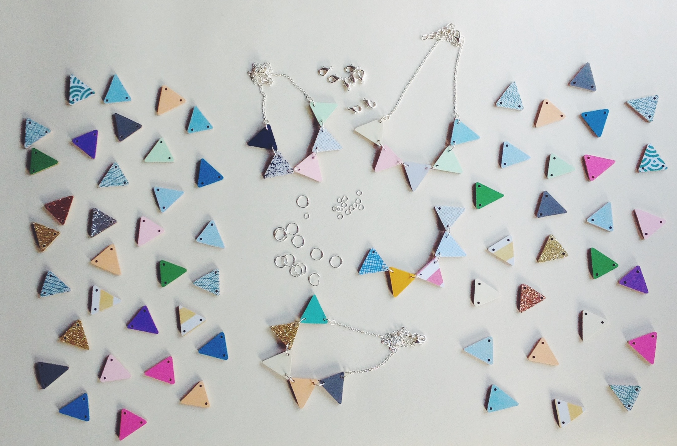Make a bunting necklace with Lucie Ellen