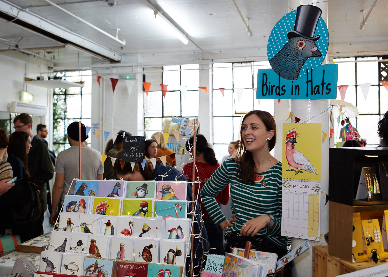 Alice Tams at Crafty Fox Market. Photo by Yeshen Venema