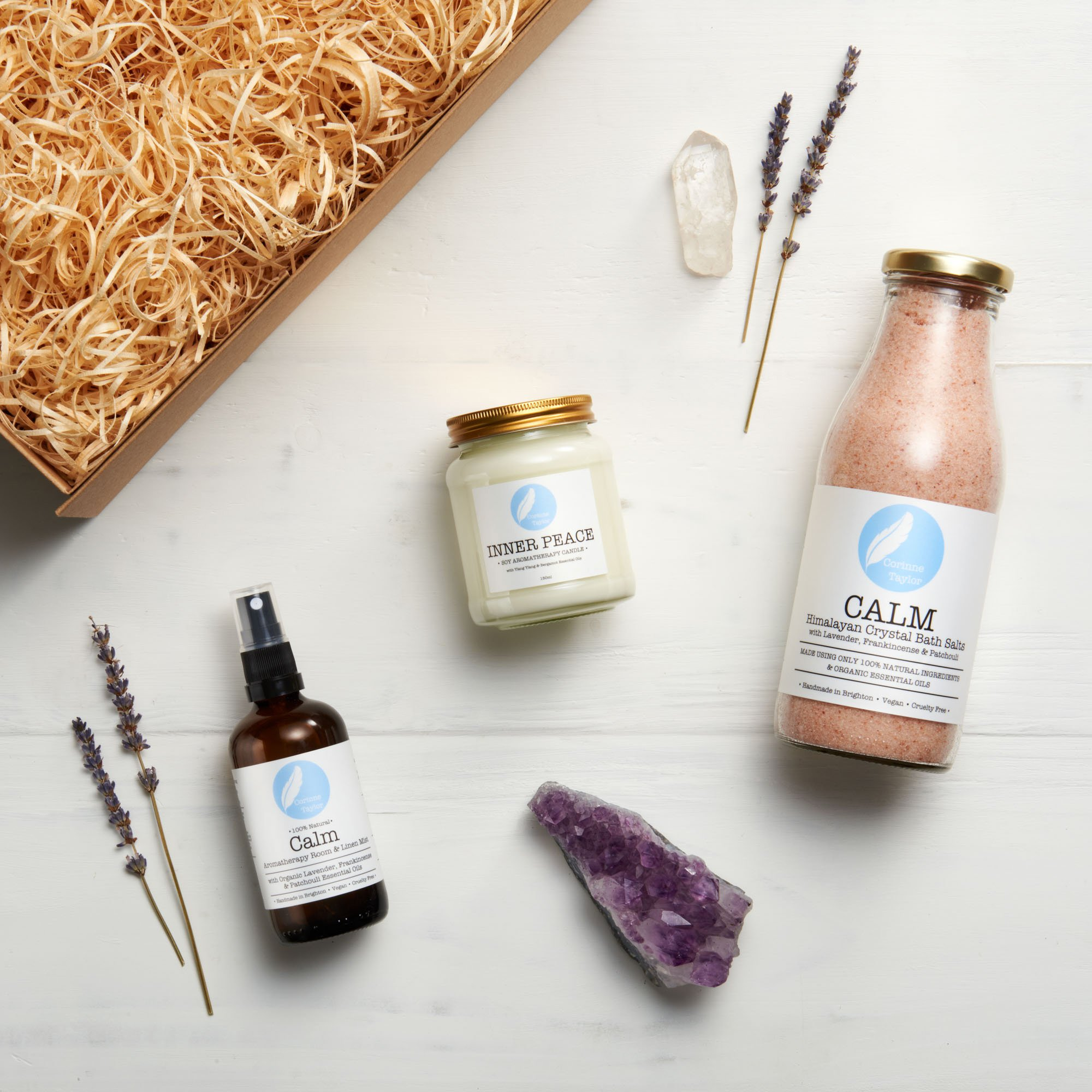 Chill Out Aromatherapy Collection Gift Set from Corinne Taylor