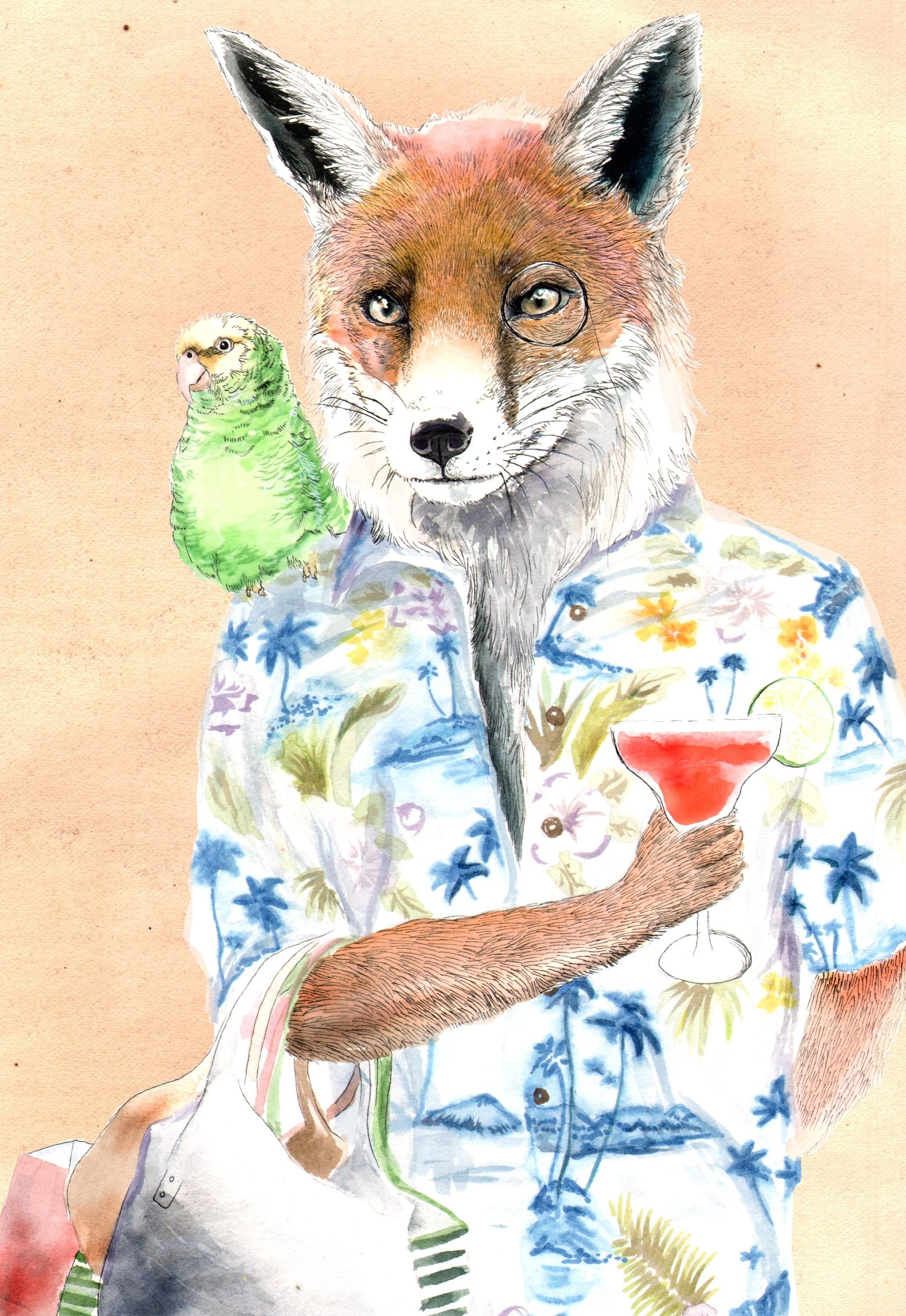 Summer Fox by Jimbobart