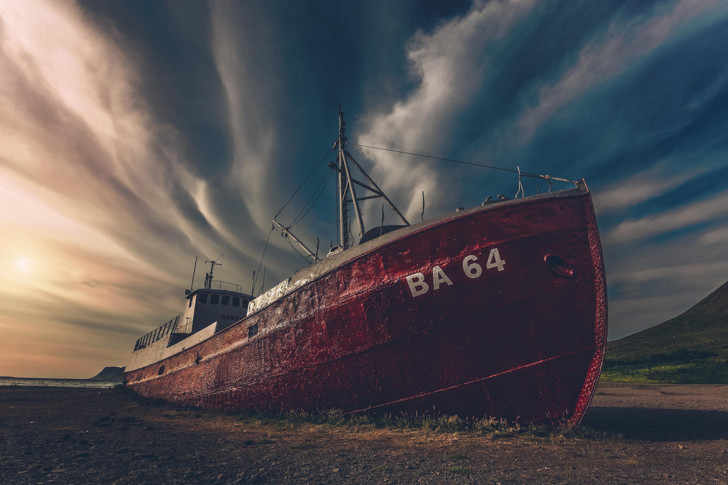 The Gardar, A Ship Wreck In Osafjördur.jpg