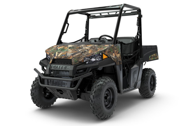 2nd Prize - A 2019 Polaris Ranger 570 in Pursuit Camo. The RANGER® 570 delivers the best-in-class 2-person utility side-by-side performance with 44 HP and True On-Demand All Wheel Drive. This workhorse is equipped with the features you need to get the job done, and the comfort you want for a day on the trails or around the property. (Valued at $10,200)