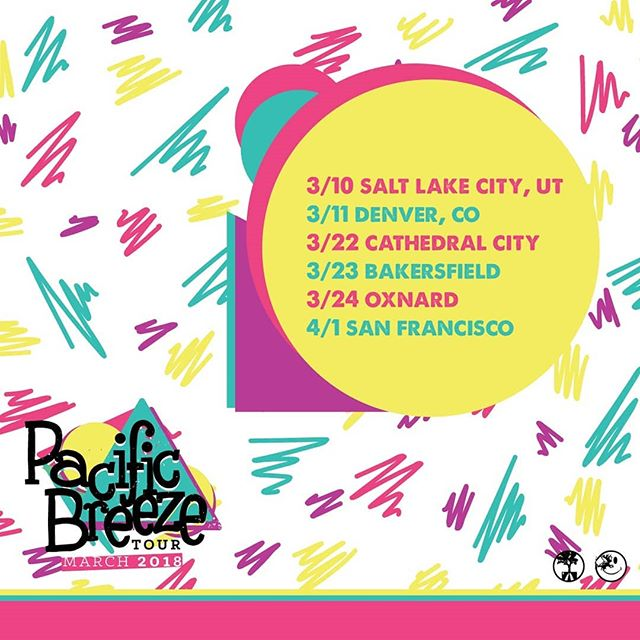 We hit the road with some of the dopest artist we've worked with throughout the years. These are confirmed dates for our #pacificbreezetour starting in March! If you don't see your city make some noise!  #LGCLTV #BTYF #tour #independent #hiphop #America ##camgnarly #noajames #endz #4th #velthewonder #leomarmendez