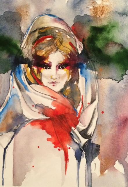 Bete, Original Art   by Lisa Shirk