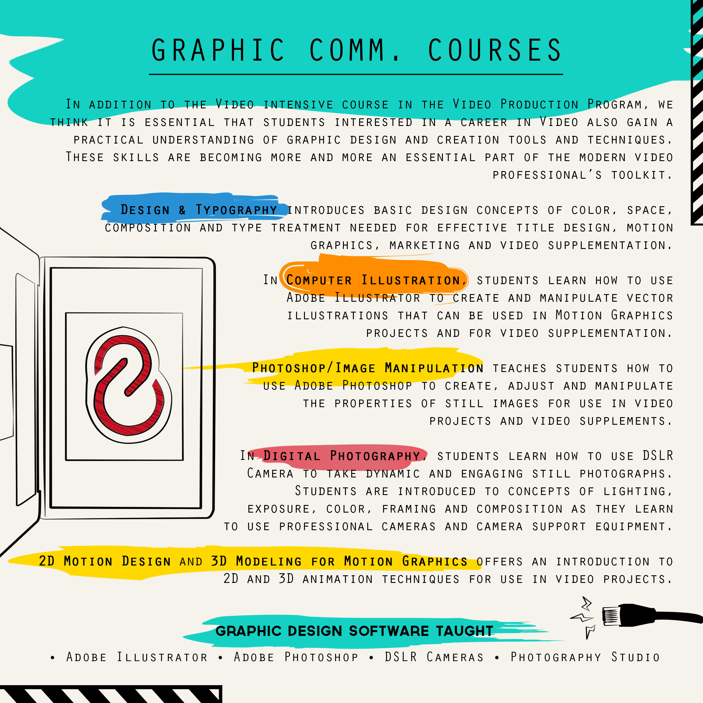 Graphic Communication Classes Video Production
