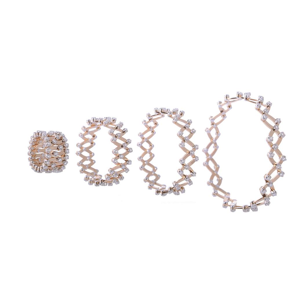 Brevetto WOW Ring   Ring in 18 Karat Weissgold mit Diamanten.