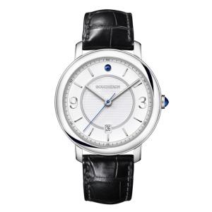 Epure Armbanduhr   Armbanduhr aus der Kollektion  Epure  in Edelstahl mit einem Saphir Cabochon.