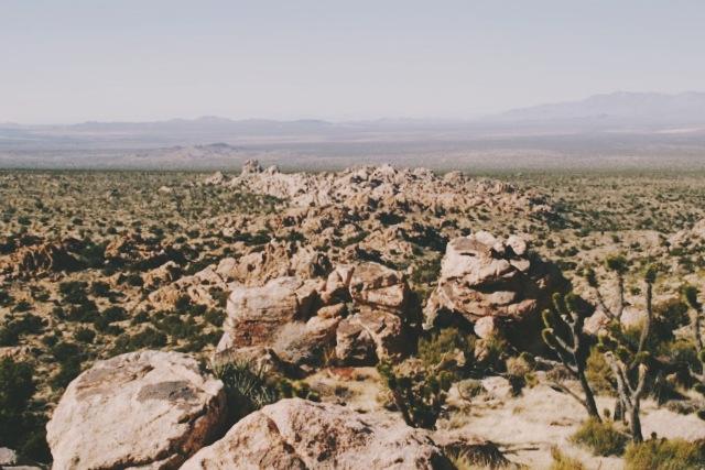 View from Teutonia Peak
