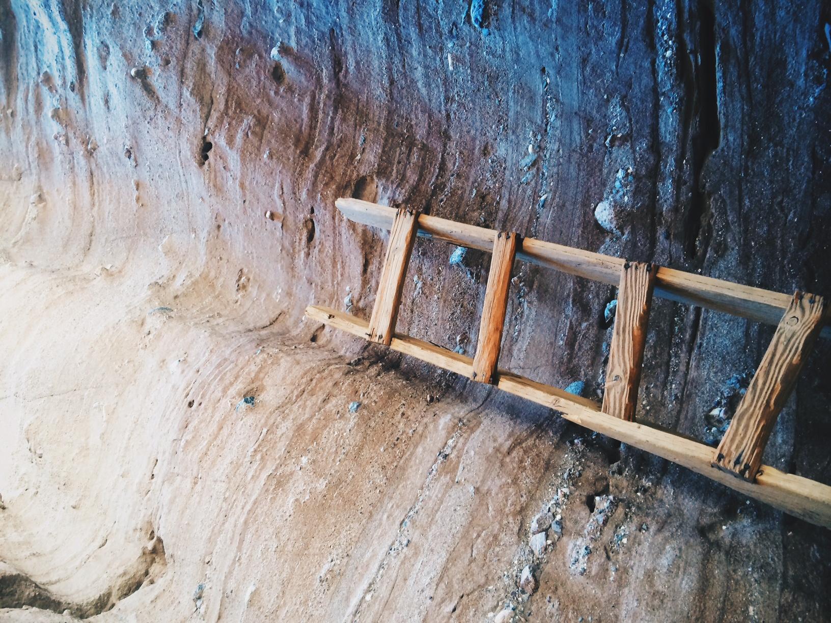 Broken ladder