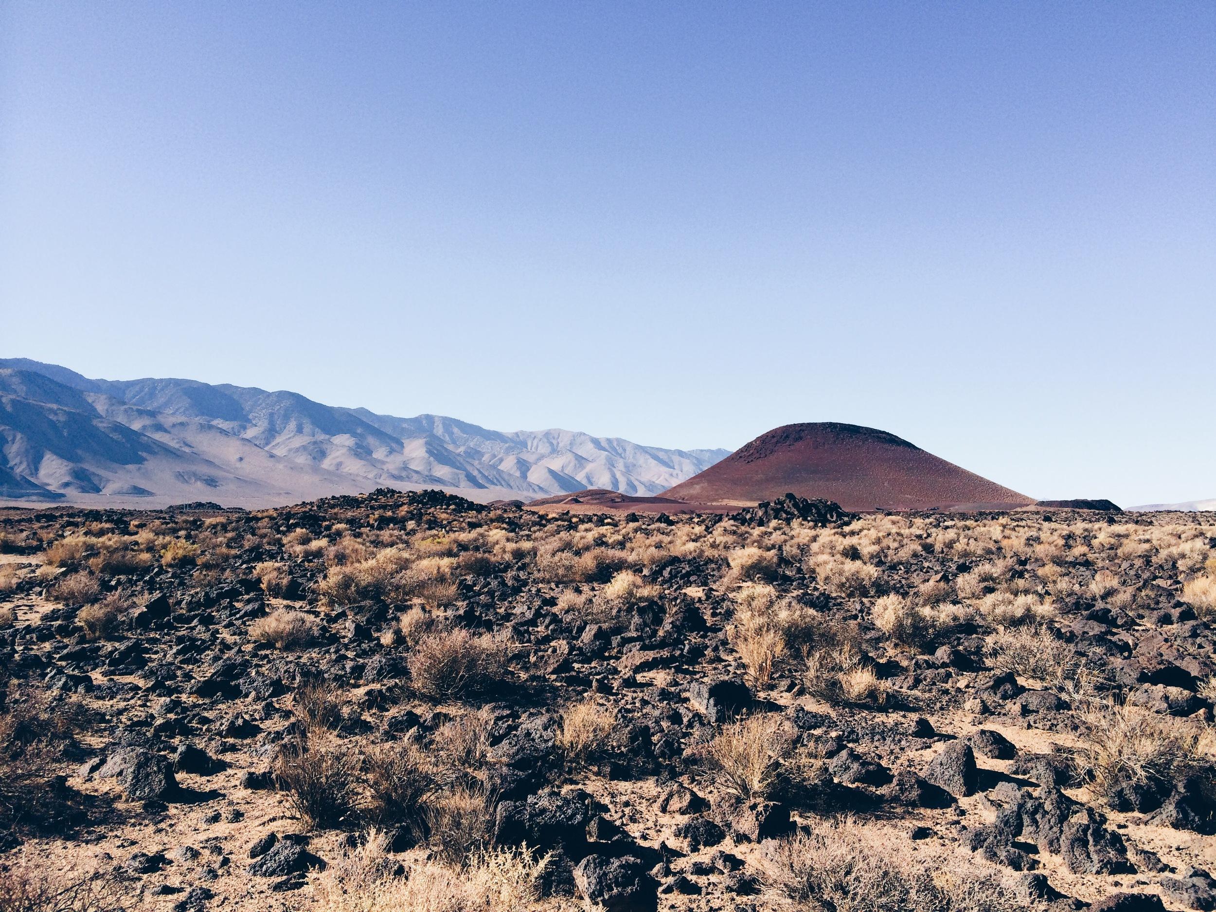 Red Hill, near Fossil Falls.