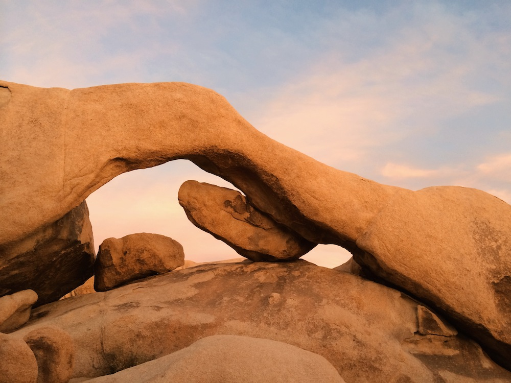 Arch Rock,a short walk from White Tank campground.