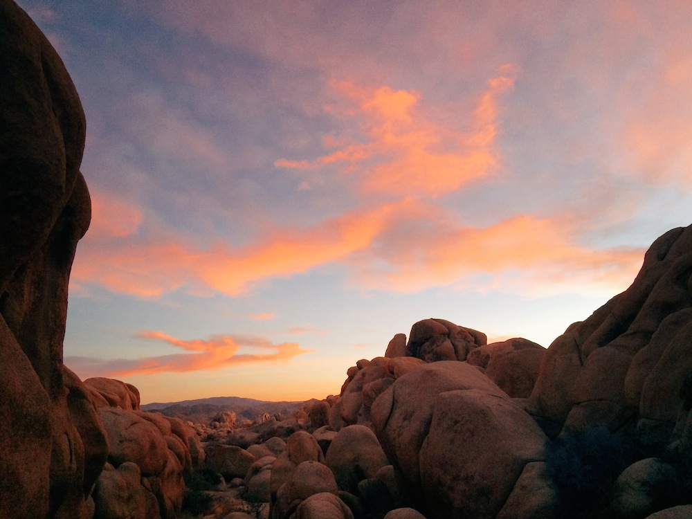 We enjoyed a long and scenic sunset near Arch Rock.