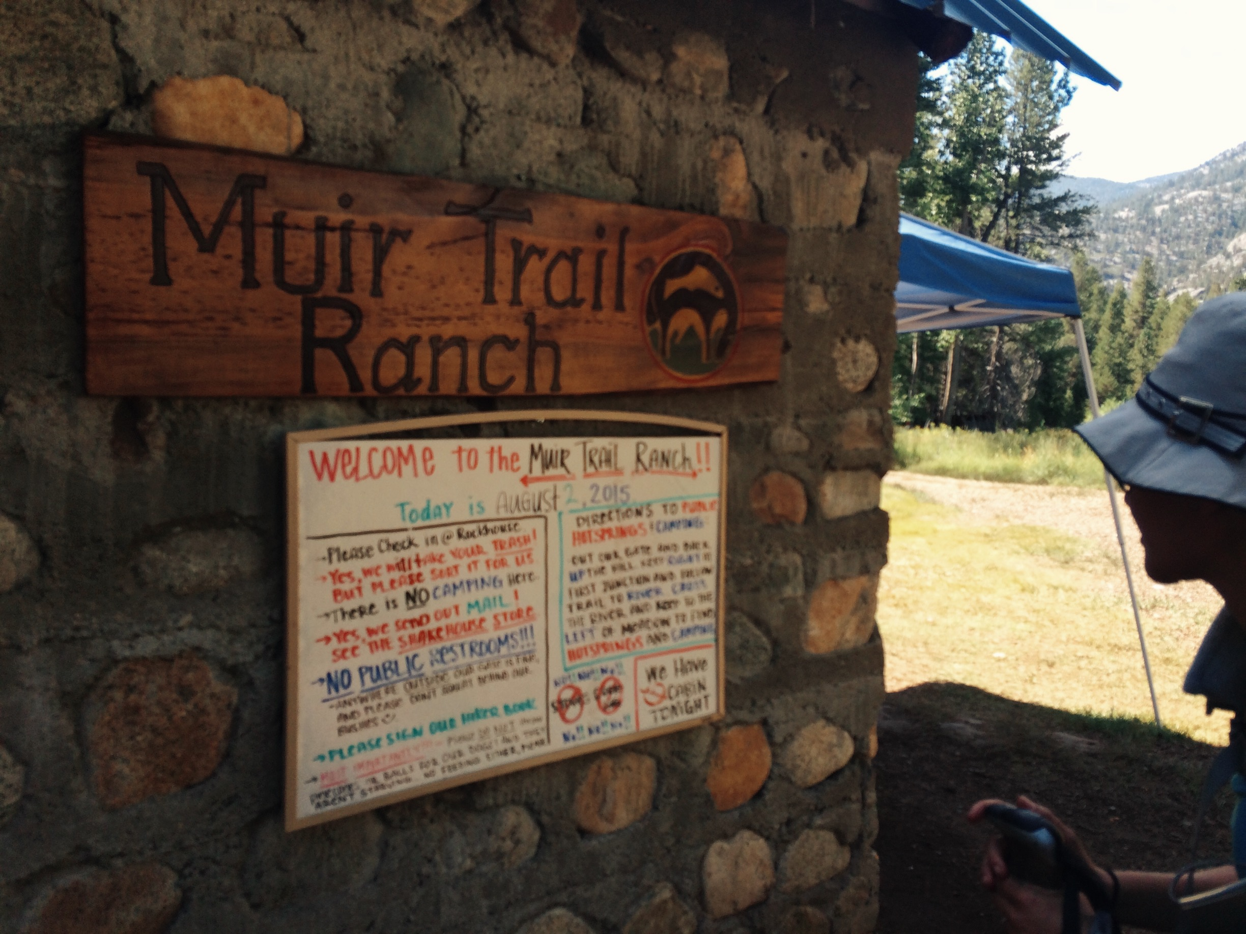 On our longest day on the trail we covered over 15 miles to make it to Muir Trail Ranch to pick up our resupply bucket before they closed for the day.