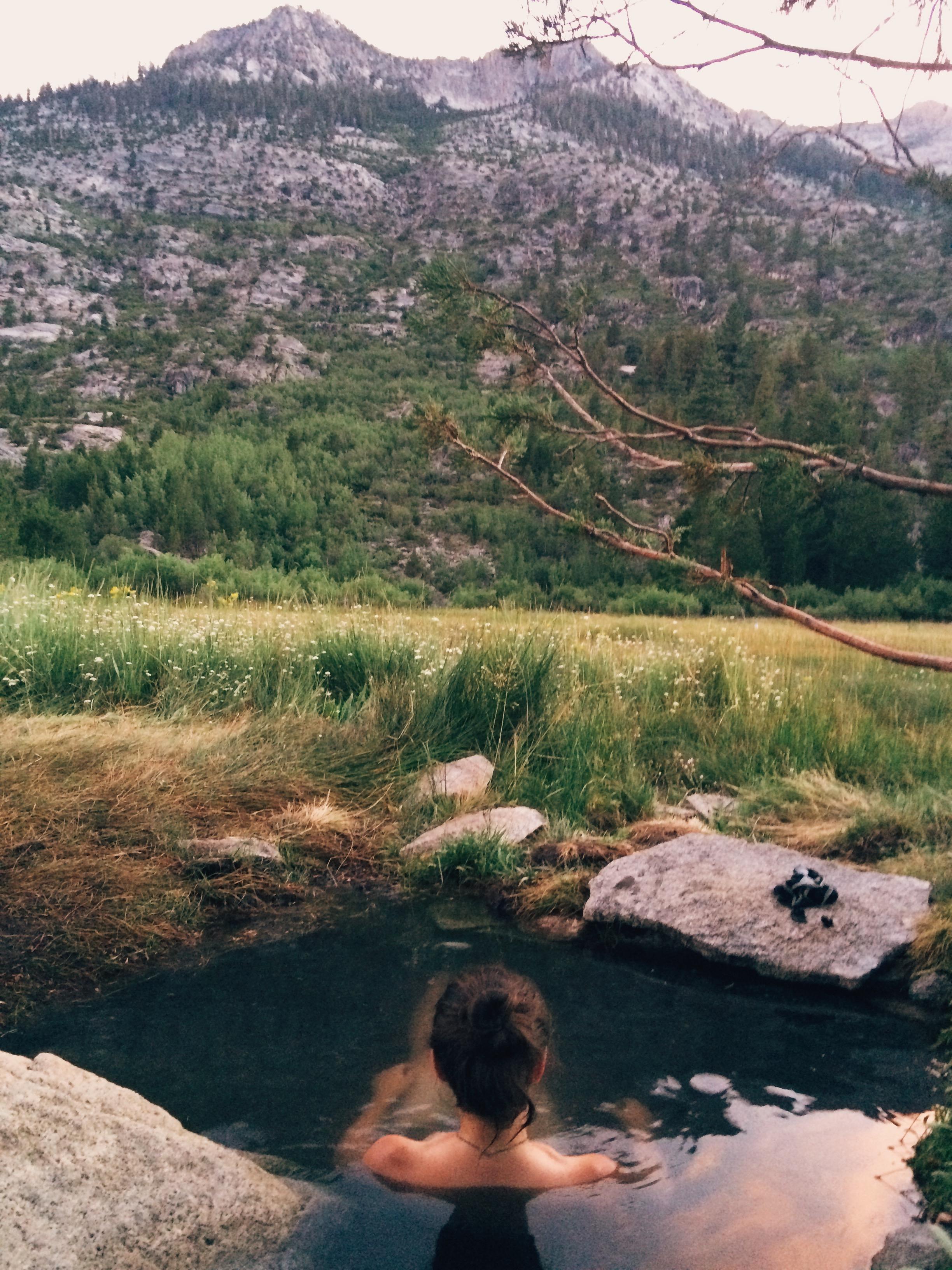 Blayney Hot Springs, across the San Joaquin River.