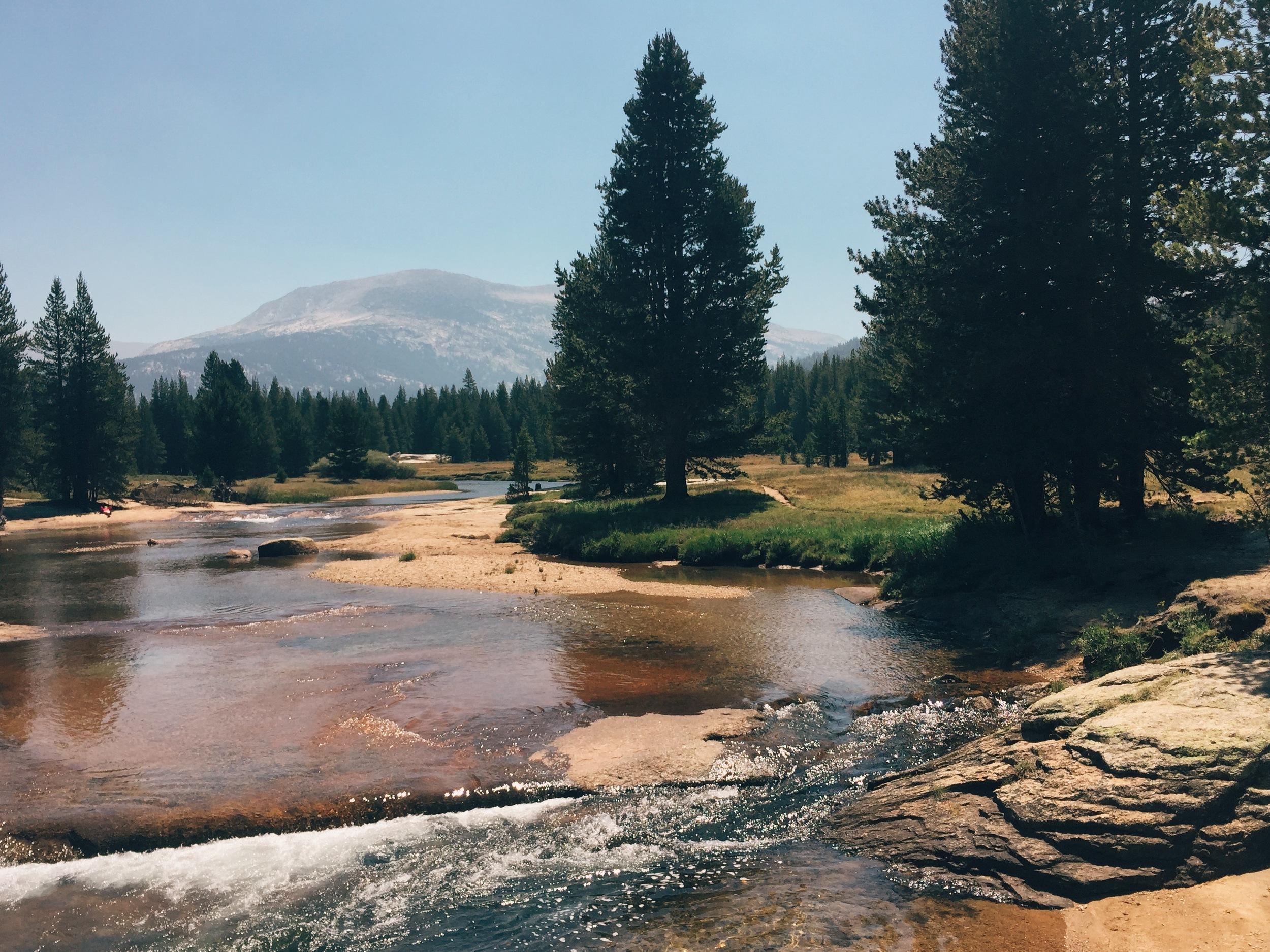 Lyell Creek.