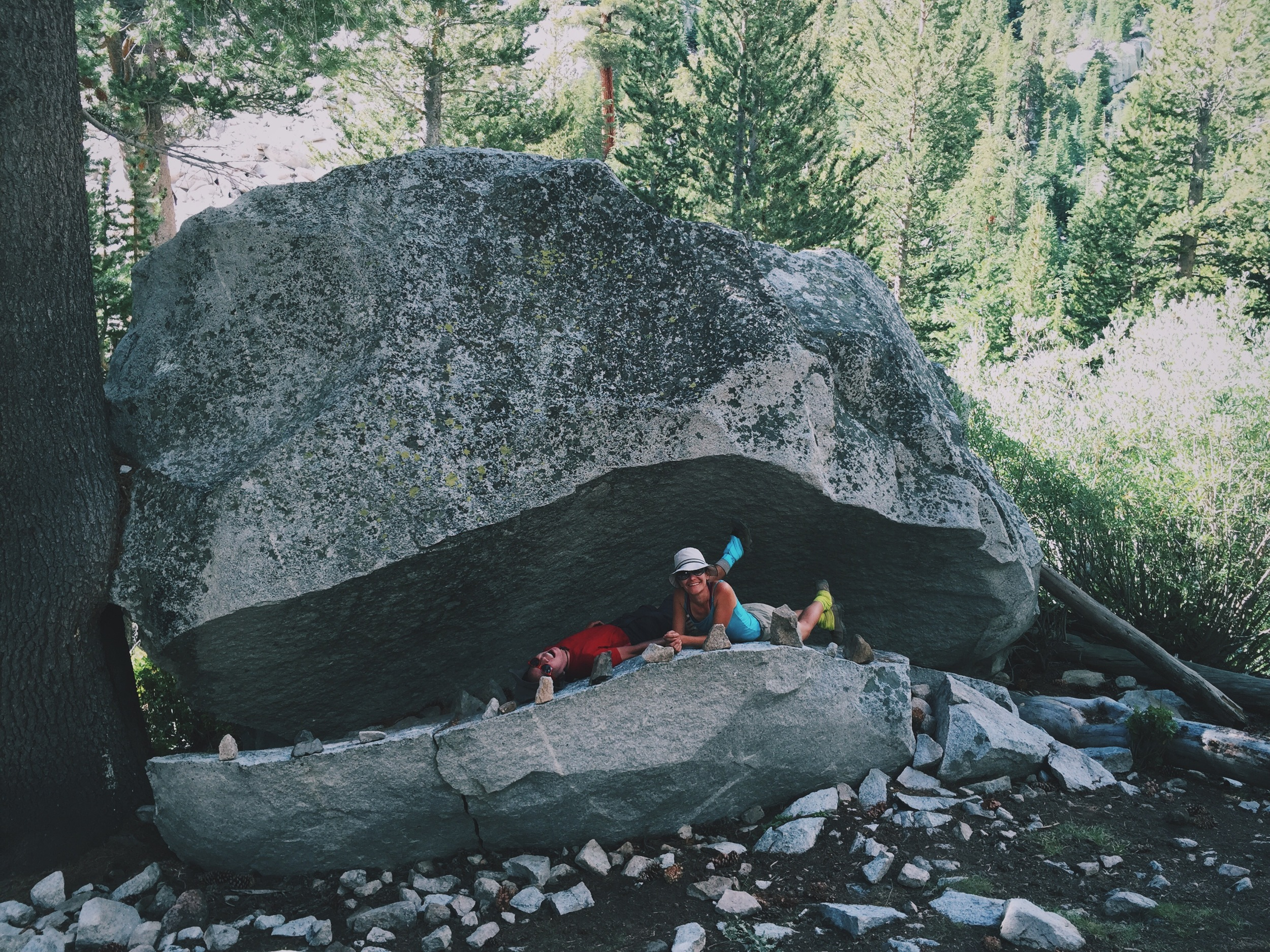 Monster rock wasn't hungry enough to eat us for lunch.
