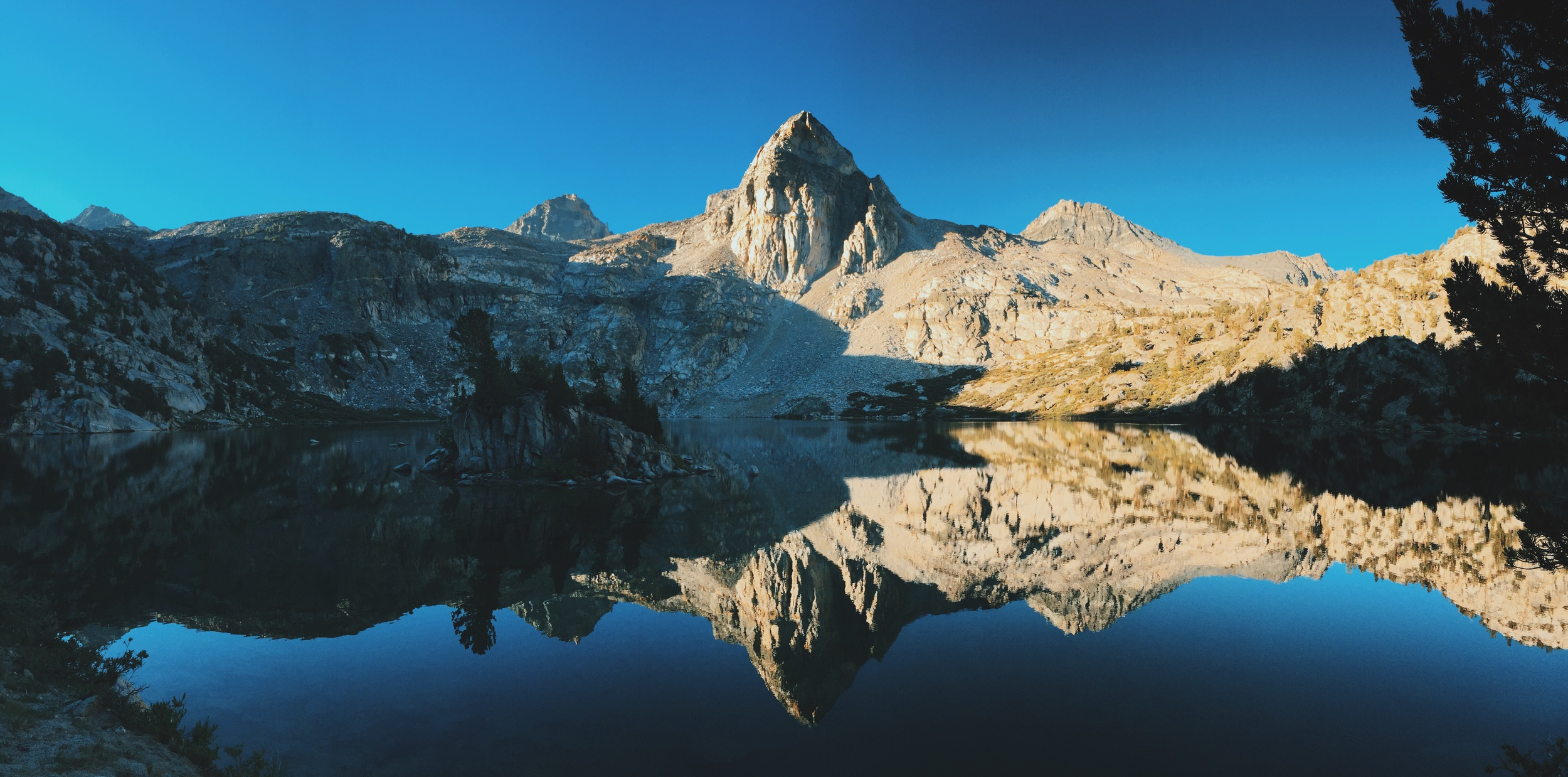 The Painted Lady. Rae Lakes, Kings Canyon National Park