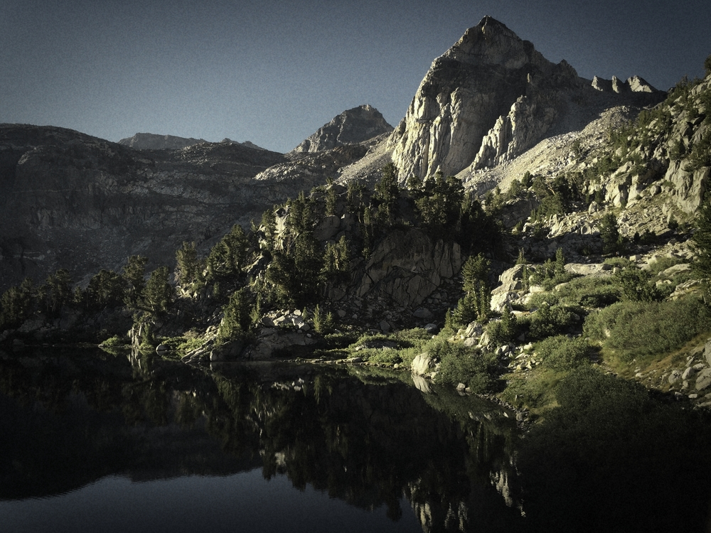 One of the scenic Rae Lakes in Kings Canyon National Park