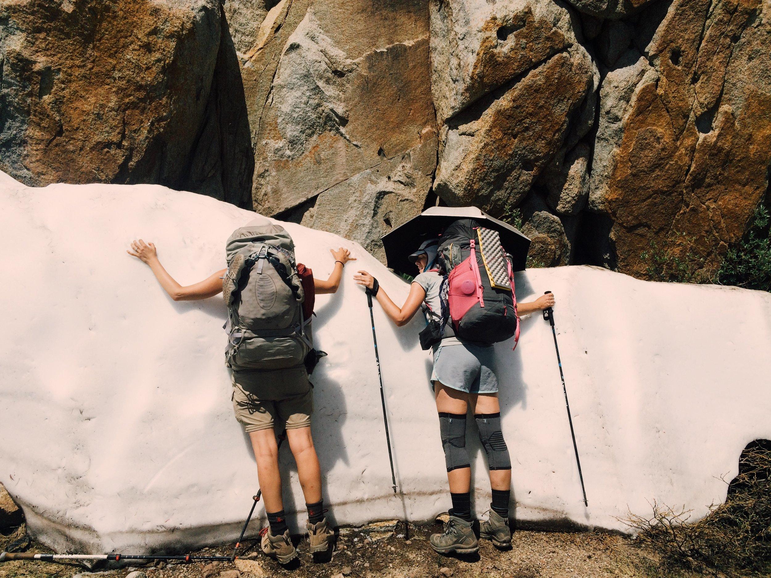 Cooling off near Sonora Peak