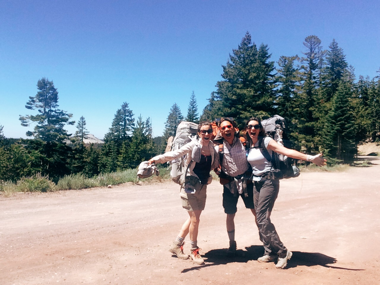 And it begins:Barker Pass Trailhead