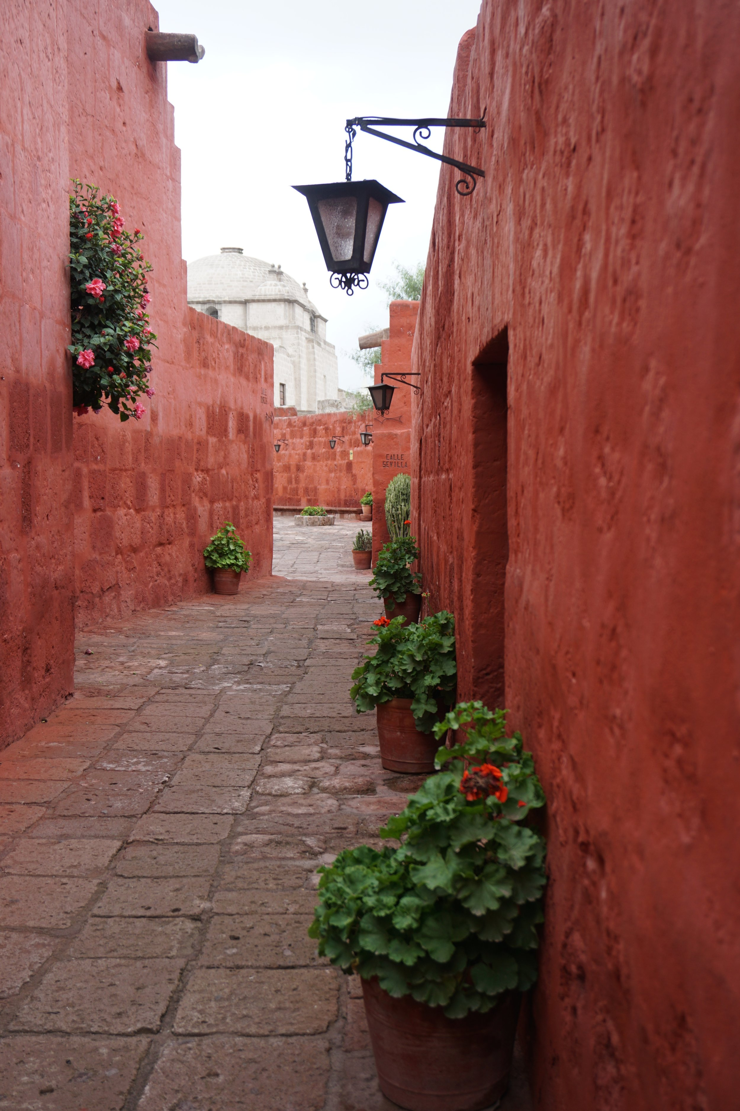 The Monasterio de Santa Catalina is full of inviting alleys and passageways