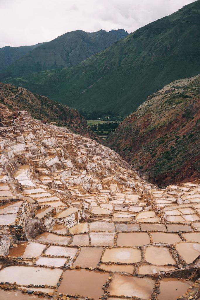 The salt ponds of Mara