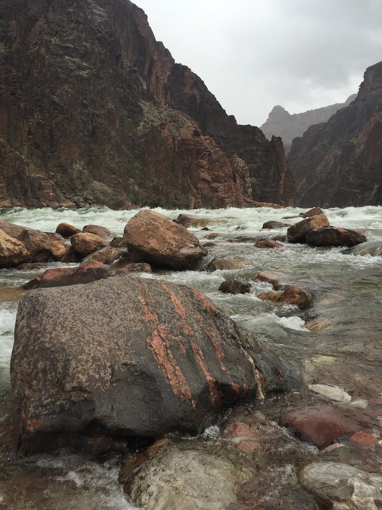 Upstream view near Granite Rapids