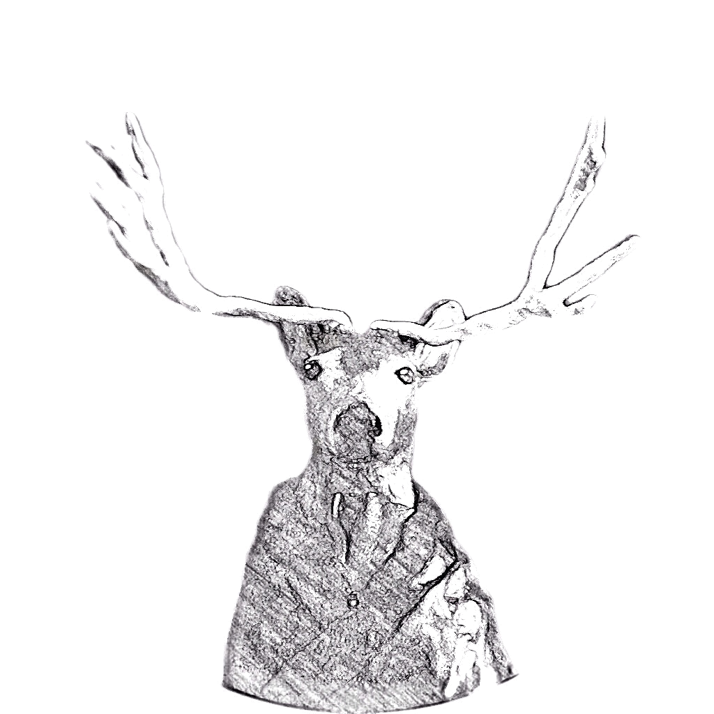 "Dear Antler      by Jedediah Cornelius Antler     ""The buck stops here.""   The advice and musings of the swankiest eight-point buck you'll ever meet."