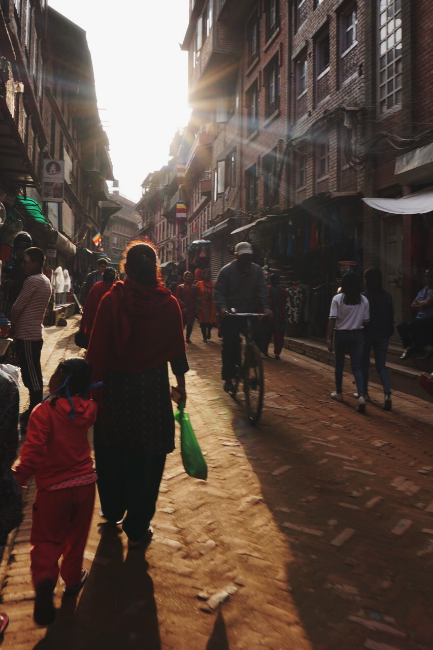 Late afternoon, Bhaktapur