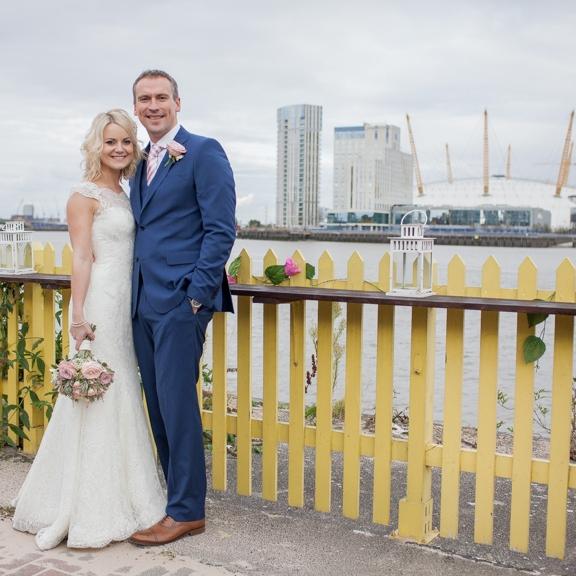 Amy & David - The Gun, London Docklands
