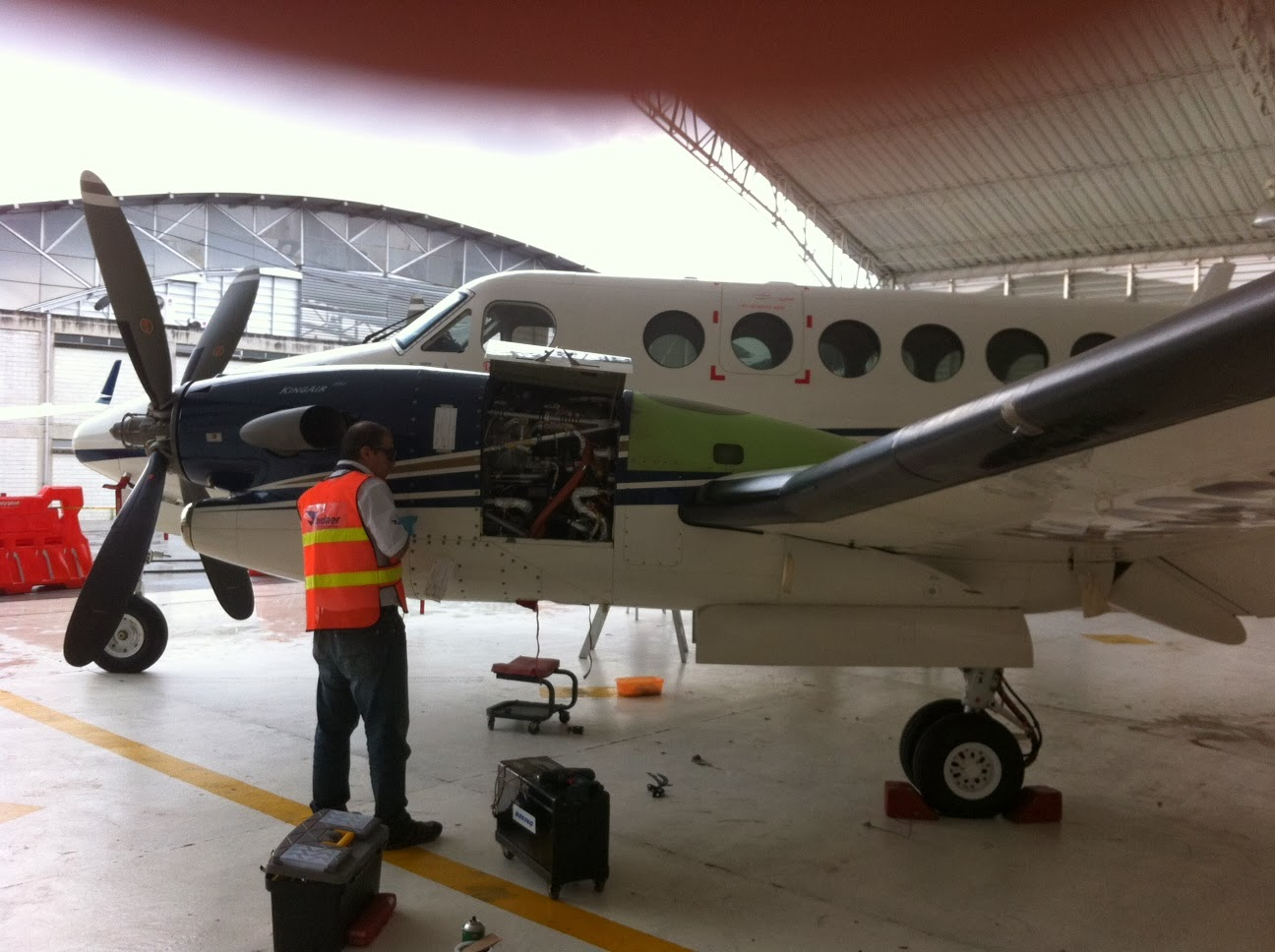 King Air airframe maintenance service and support