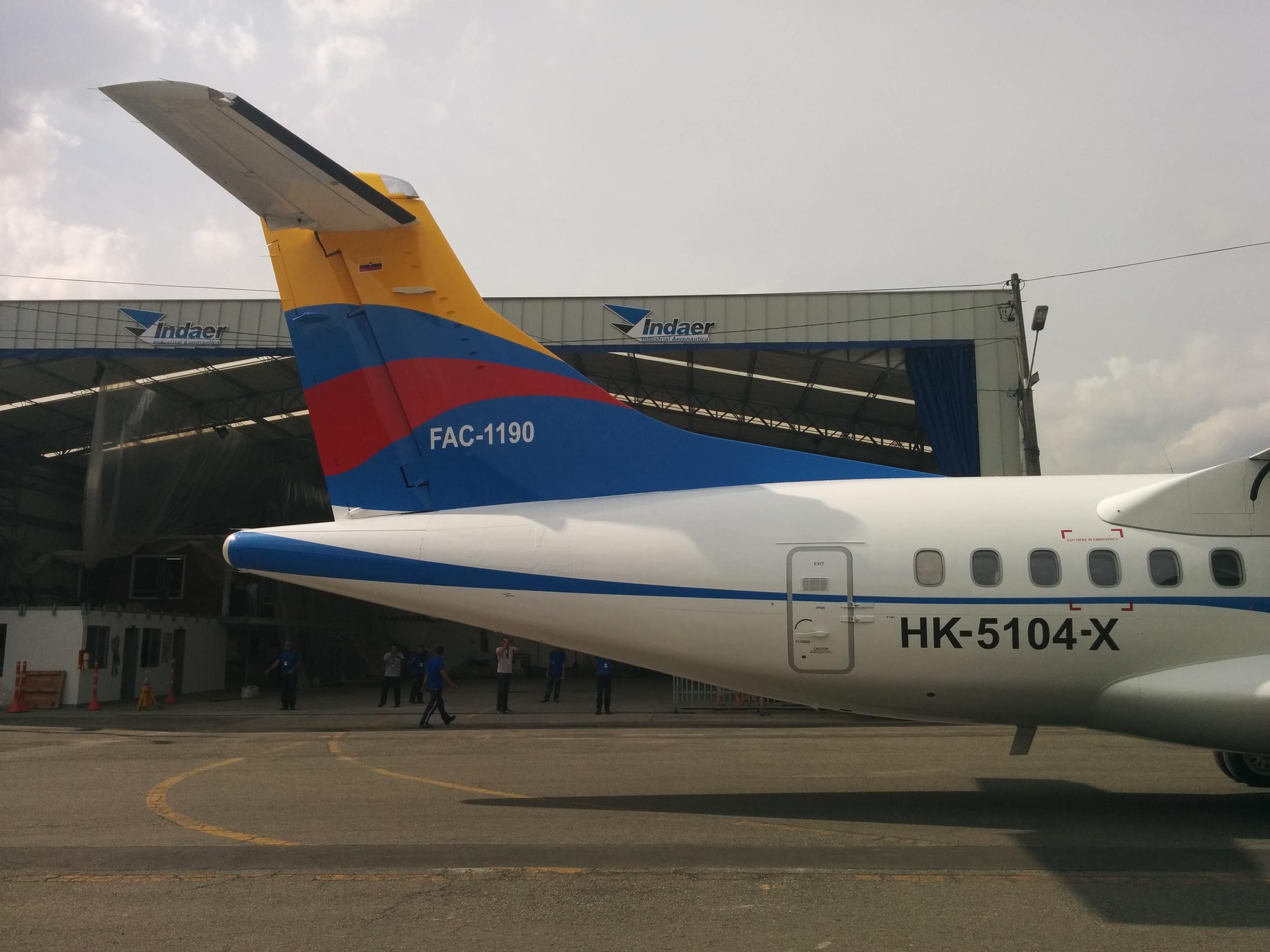 ATR 72 and ATR 42 aircraft paint livery
