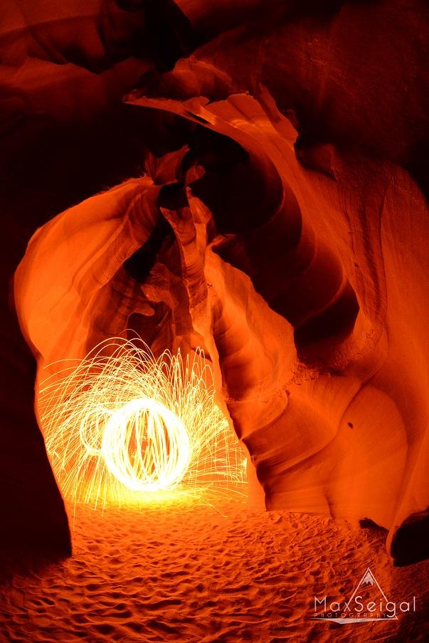 Fire orbs are fun!
