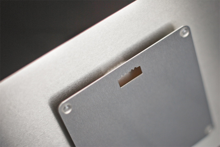 Standard float mount for MetalPrints