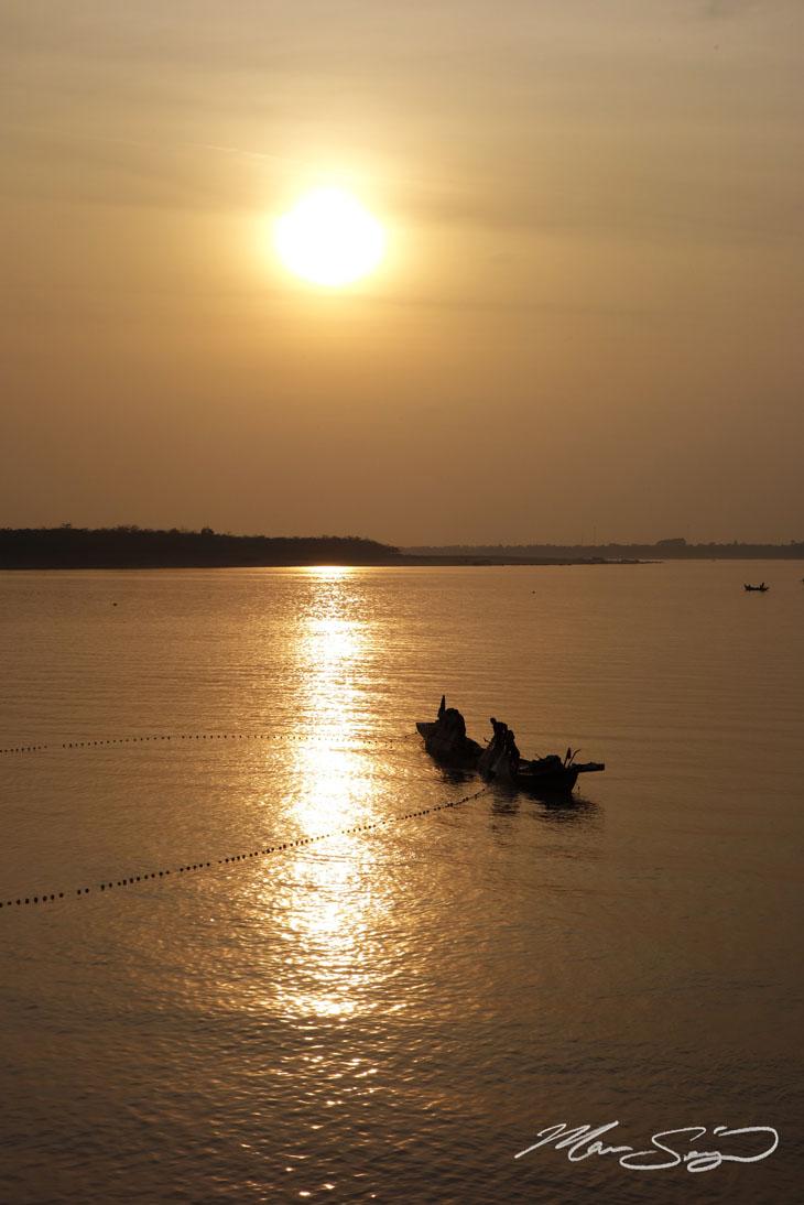 Morning fishing activities