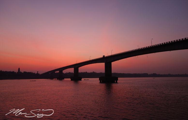 Bridge near Phnom Penh
