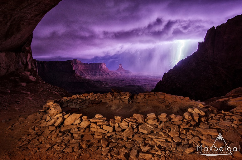 The result of an epic night in Canyonlands National Park. This photograph would later on win second place in the 2013 National Geographic Traveler photo contest, which received over 15,000 entries this year.