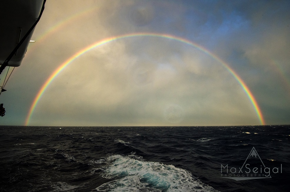 Epic rainbow that followed the storm