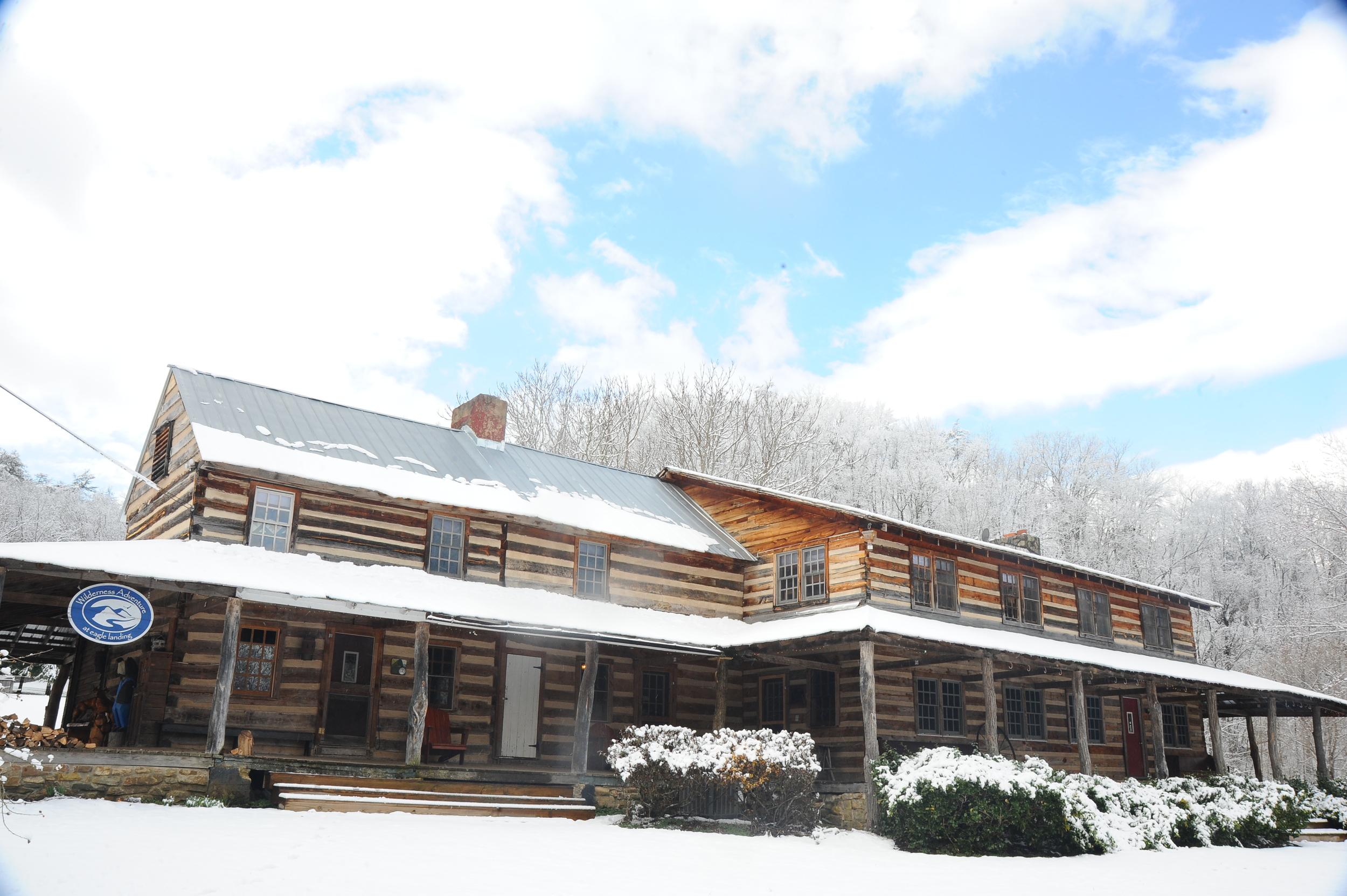 Wilderness Adventure's centerpiece, the Main Lodge