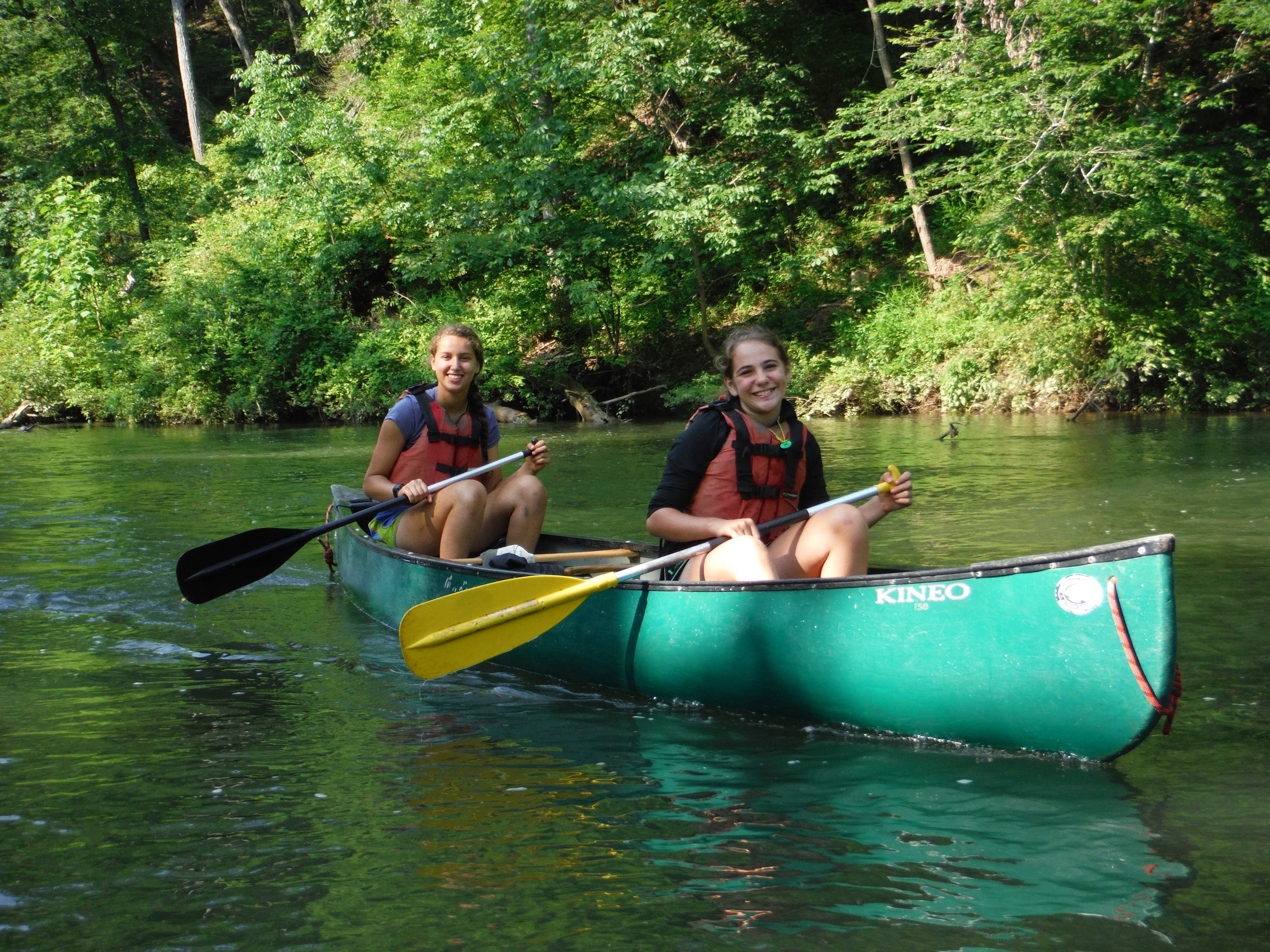 Canoe Rental  $35per boat  Includes shuttle to our 2nd Ford on Craig's Creek!