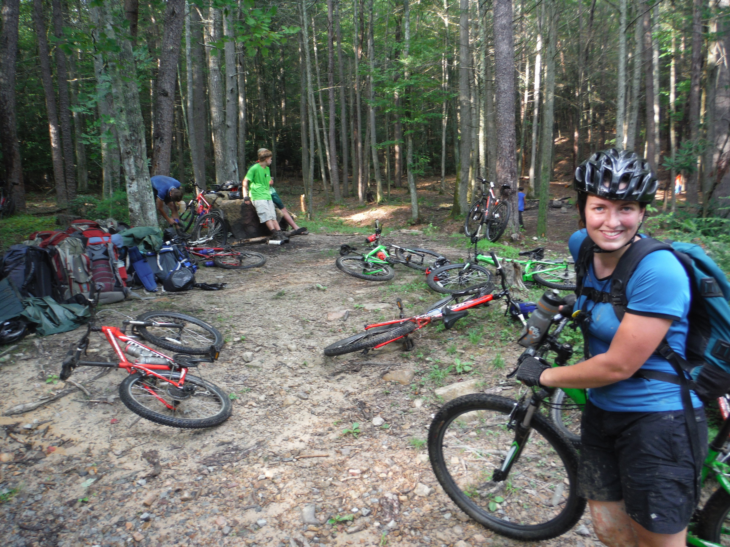 Mountain Bike Rental  $40 per person  Includes helmet, gloves, & a map of the surrounding trails!