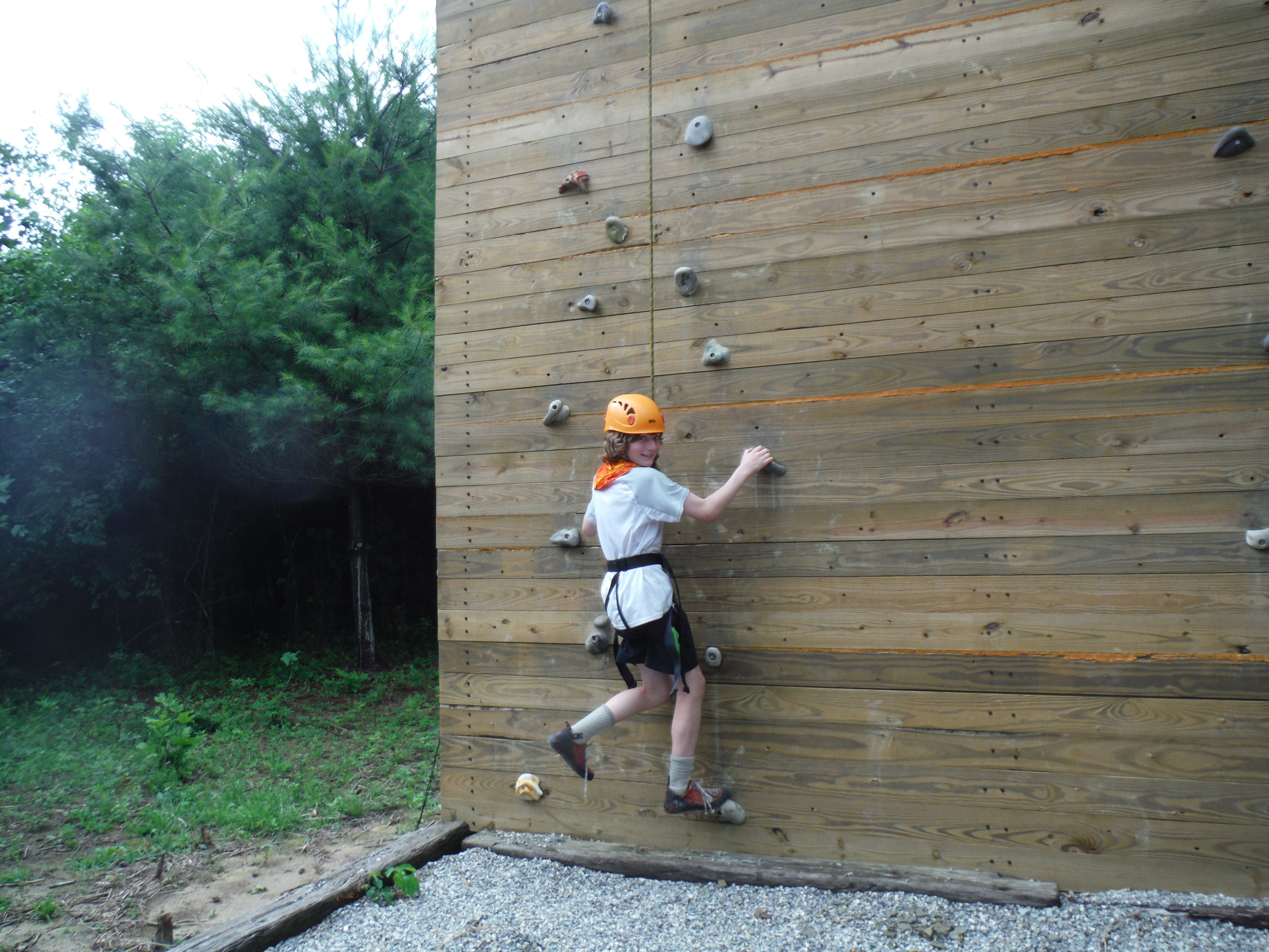 Climbing Wall  $20 per person  Climb to your heart's content!