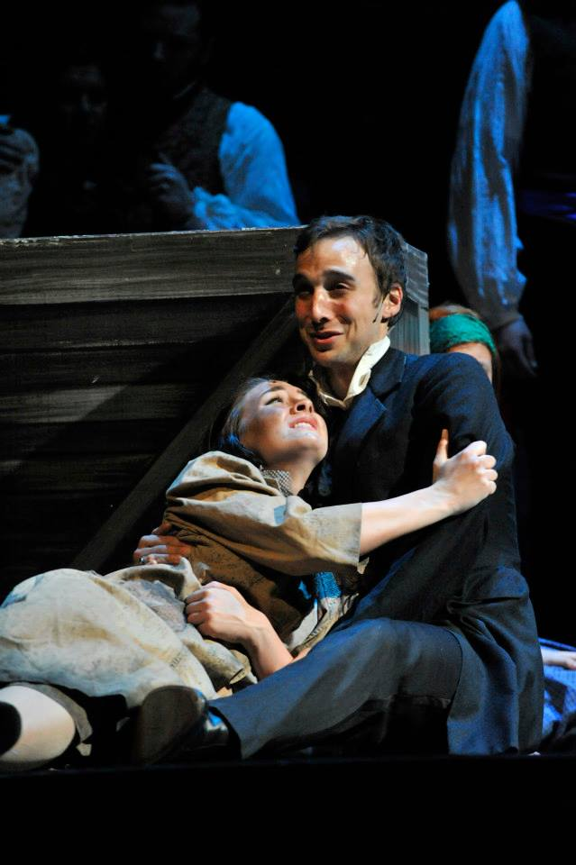 Eponine in Les Miserables, Ralph Duke
