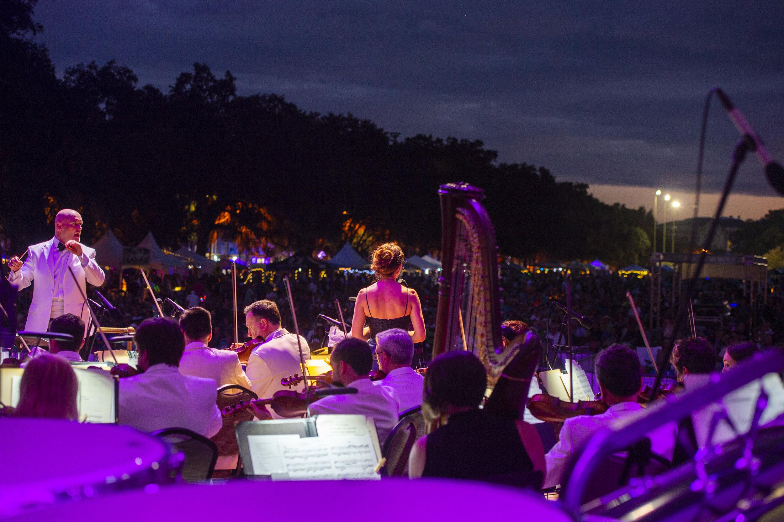 Geoff L Johnson - Picnic in the Park, Savannah Philharmonic
