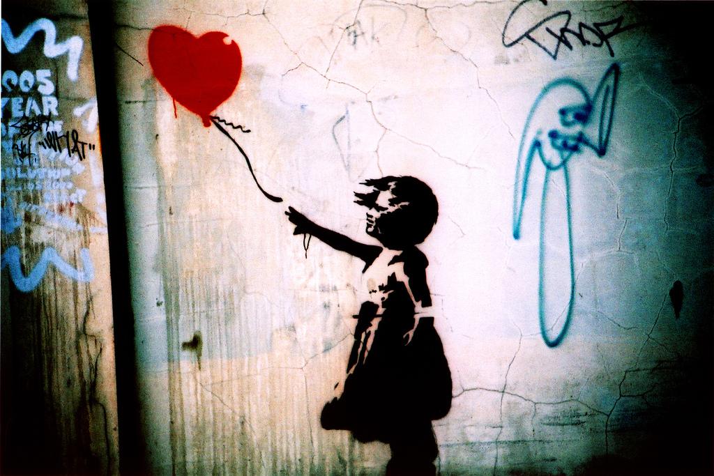 """Balloon Girl,"" Banksy"