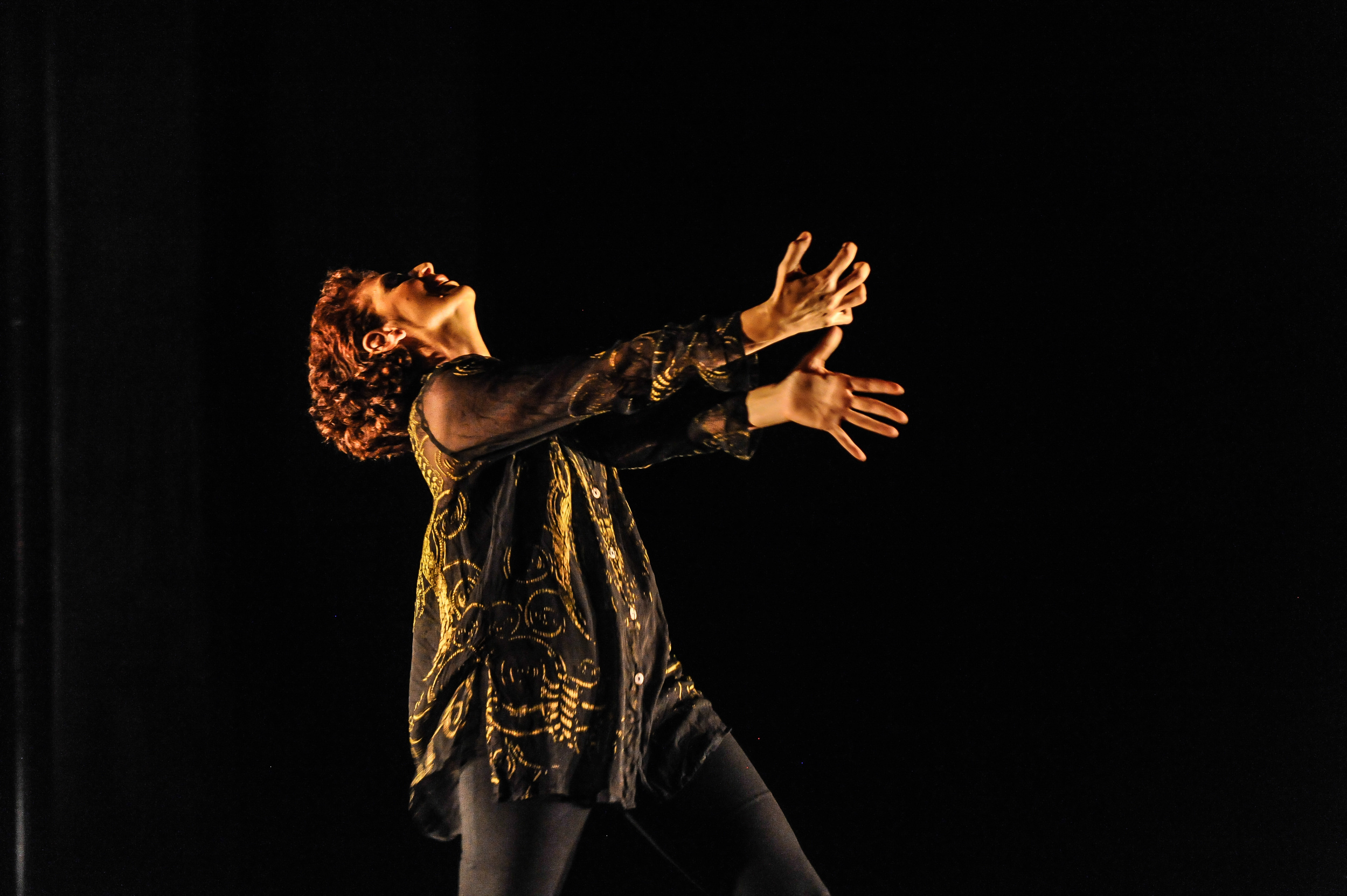 """Anne Bluethenthal in """"Forgiveness Project: Part One,""""ABD Productions, Photo byAnton Martynov"""