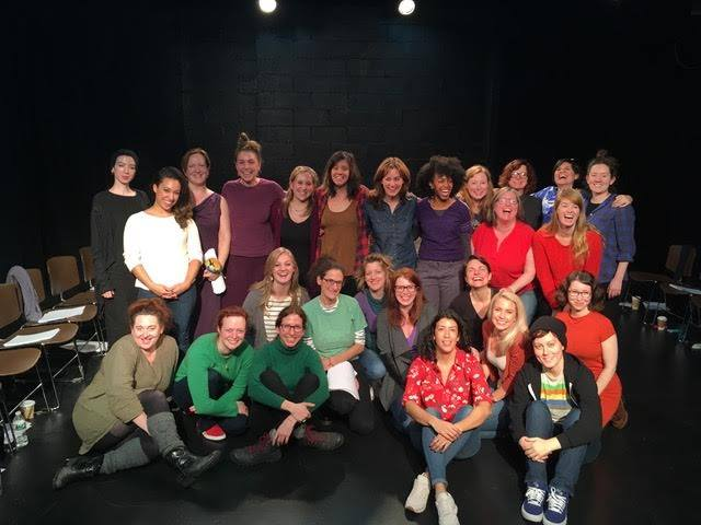 Cast of The Starving Dress developmental reading (2017)