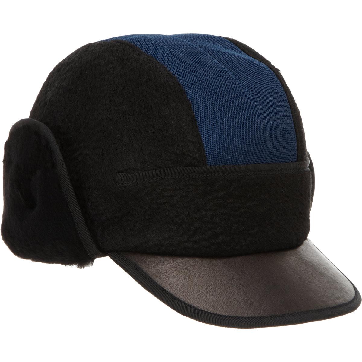 NOEL STEWART Mixed Material Cap $219 Sale